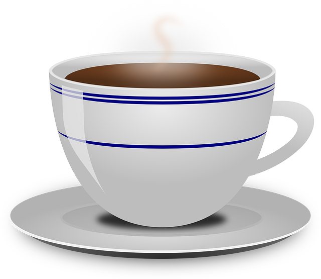 Coffee, Cup, Drink, Food, Hot, Beverage, Saucer, Steam