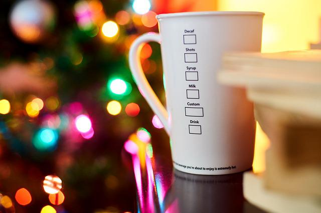 Coffee, Cup, White, Lights, Books, Relax, Beautiful