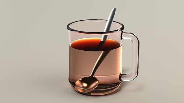 Teacup, Cup Of Tea, Tea, Drink, Beverage, Hot, Spoon