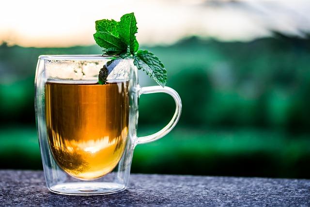 Teacup, Cup Of Tea, Peppermint Tea, Tee, Drink, Hot