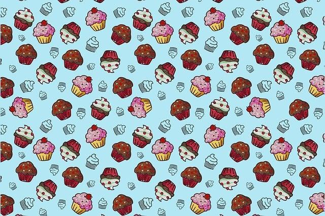 Cupcake, Cake, Cupcakes, Dessert, Sweet, Birthday