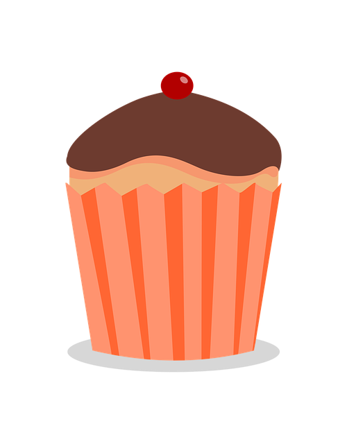 Cupcake, Food, Chocolate Cream, Sweet, Cake, Dish