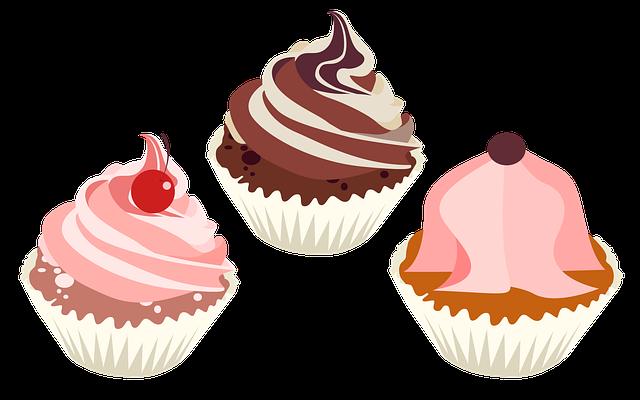 Cupcake, Cupcake Icon, Dessert, Flat, Pastry, Bakery