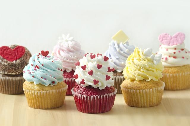 Cupcake, Dessert, Cake, Food, Delicious, Confectionery