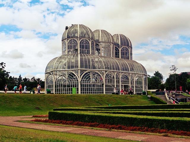 Botanical Garden, Curitiba, Brazil, Orangery