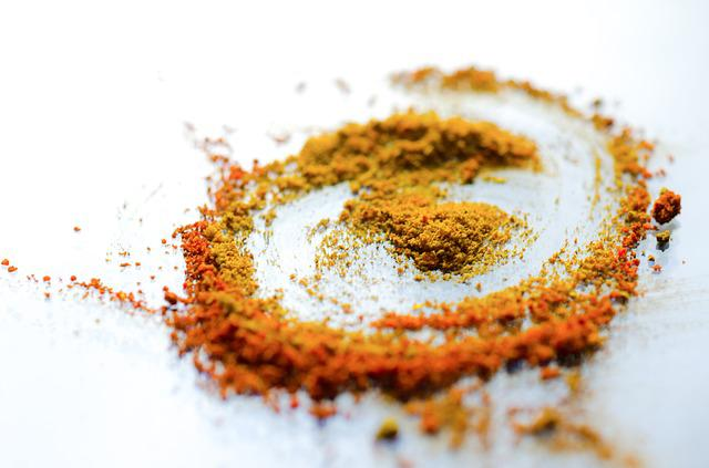 Curry, Powder, Hot, Spice, Food, Surface, Curl, Table