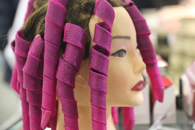 Curler, Beauty, Beauty Salon, Mannequin, Hairstyle