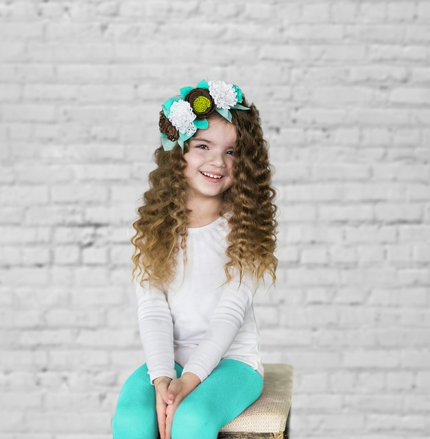 Girl, Portrait, Baby, Curly, Cute, Childhood, Beauty