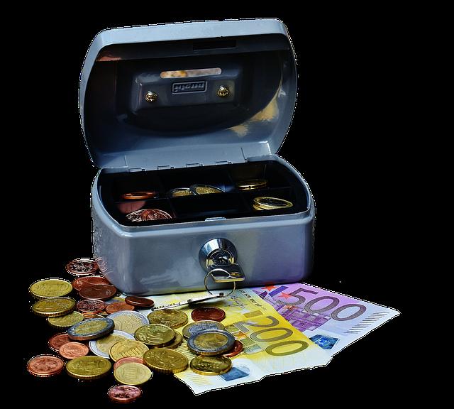 Cashbox, Money, Currency, Cash Box, Finance, Money Box