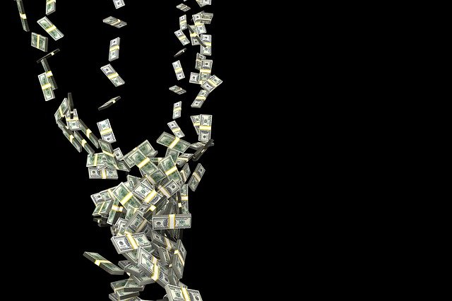 Fall, Hurricane, Money, Finance, Currency, Crisis