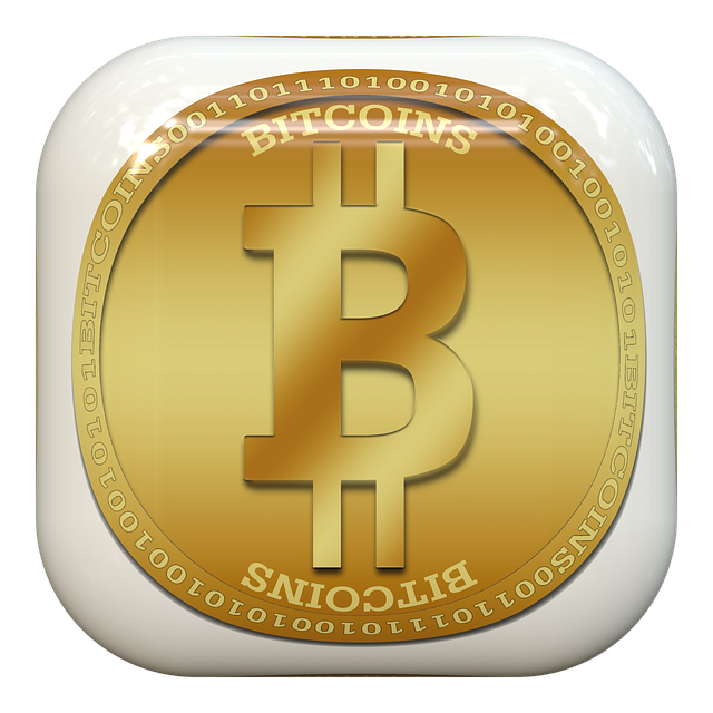 Button, Bitcoin, Internet Services Currency, Currency