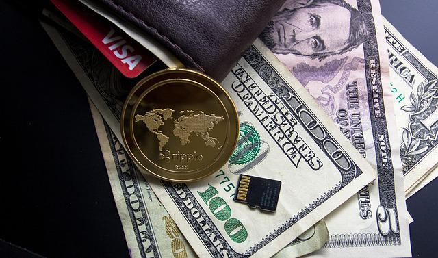 Free photo Golden Currency Wealth Ruble Background ...