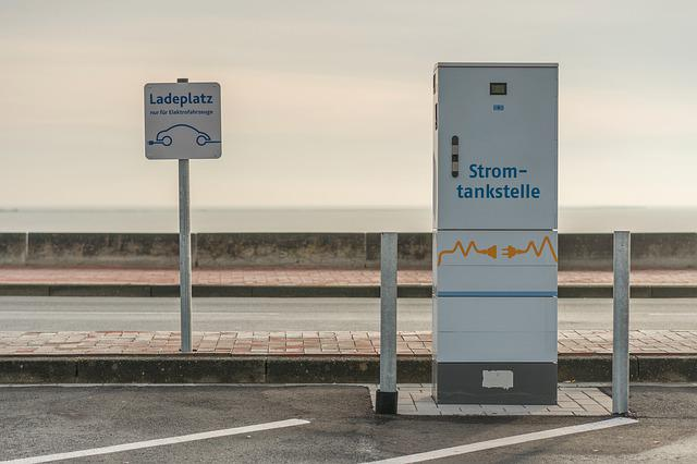 Charging Station, E Mobility, Current Gas Station