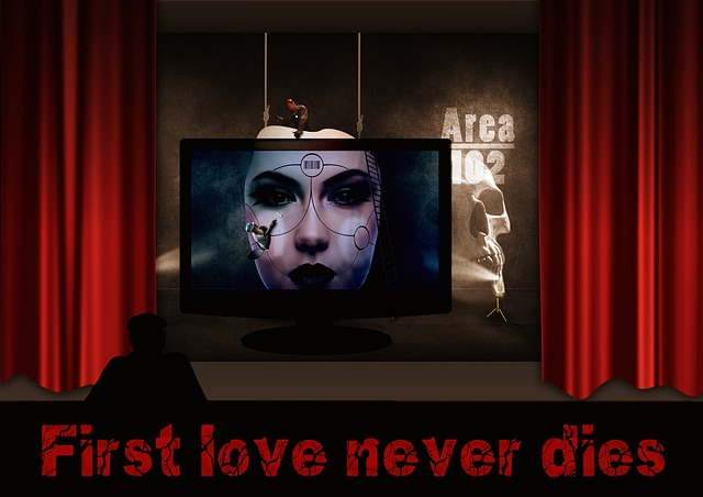 Theater, Stage, Curtain, Font, First Love, Memory