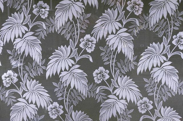 Curtain, Ornament, Flowers, Leaf, Repetition, Structure