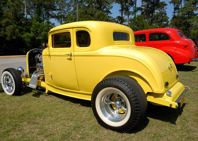 Hot Rod, Car, Customized, Show, Classic, Speed, Antique