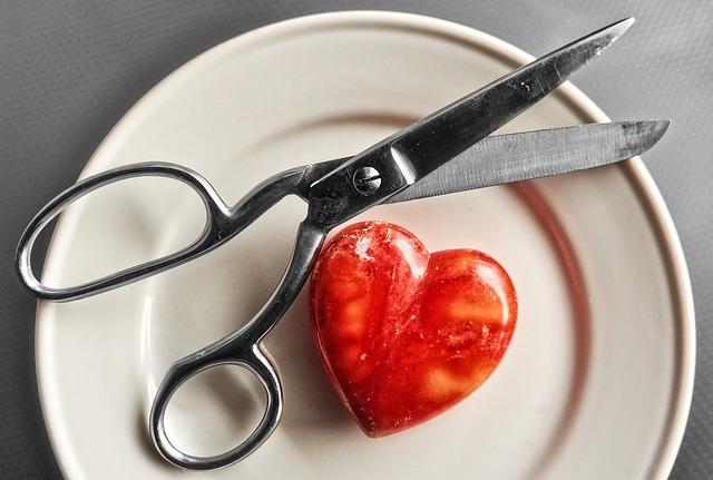 Scissors, Cut, Tool, Paper, Hair, Heart, Love, Organ