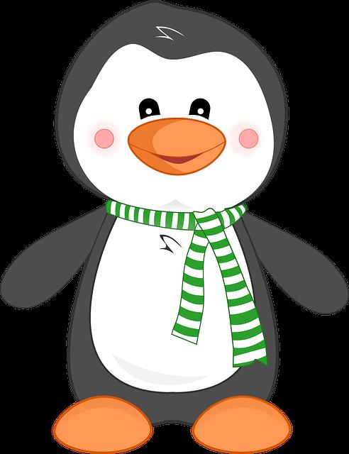 Penguin, Animal, Cute, Cartoon, Bird