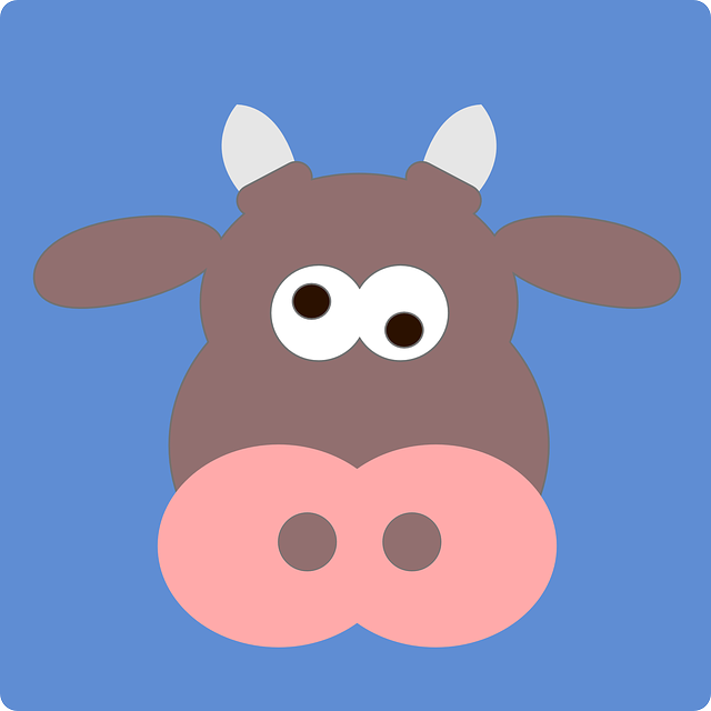 Cow, Crazy, Animal, Mammal, Funny, Silly, Cute, Farm