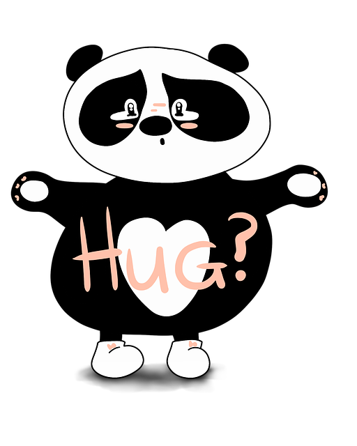 Panda, Hug, Sorry, Cute, Cute Bear, Sad, Love Adorable