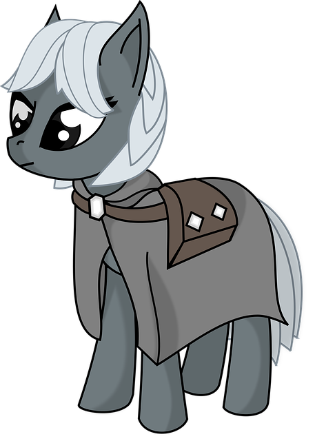 Pony, Cartoon, Cute, Animal, Horse