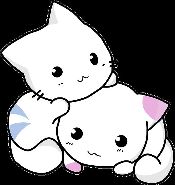 Kitty, Cuddling, Cat, Kitten Feline, Cute, Adorable