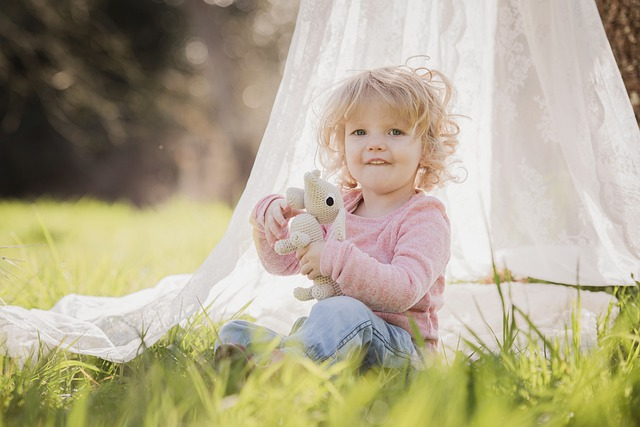Child, Cute, Nature, Summer, Girl, Toddler, Blonde