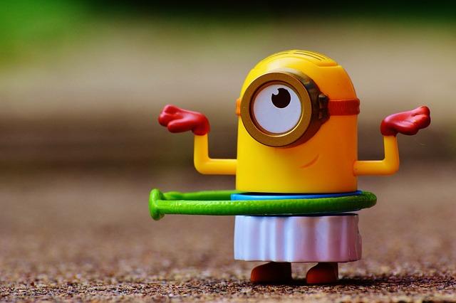Minion, Funny, Toys, Children, Fig, Cute