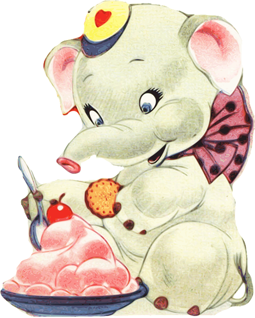 Elephant, Pet, Cute, Childish, Children's Stories