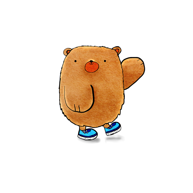 Bear, Cute Bear, Cartoon, Adorable, Cute, Animal