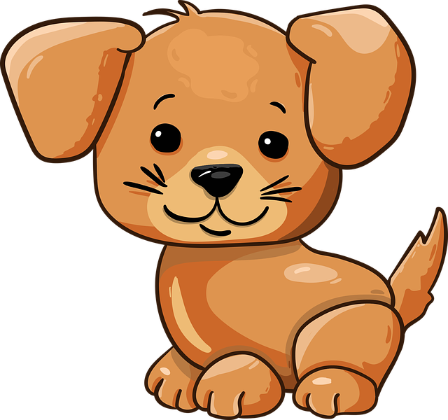 Dog, Puppy, Cute, Cartoon, Character, Doggie