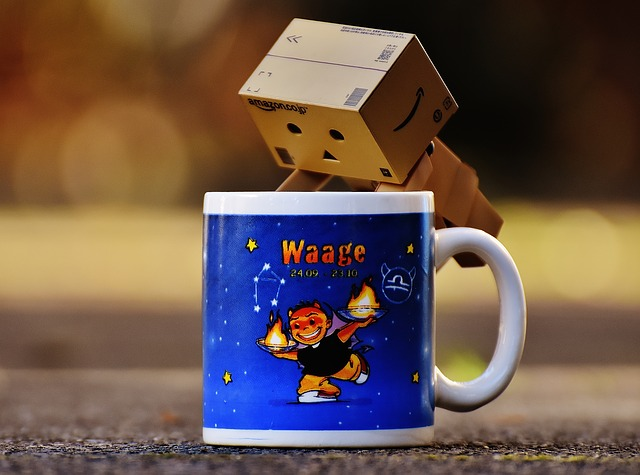 Danbo, Cup, Coffee Cup, Fig, Made, Cute, Funny