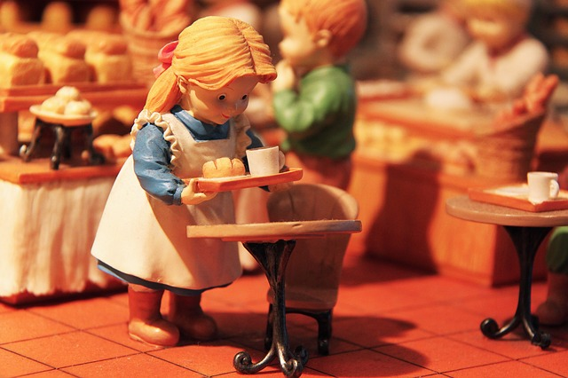 Cute, Interesting, City, Miniature Bakery Masterpiece