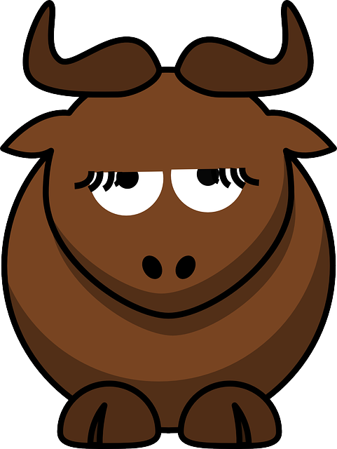 Gnu, Animal, Cute, Disappointed, Funny, Mammal, Bull