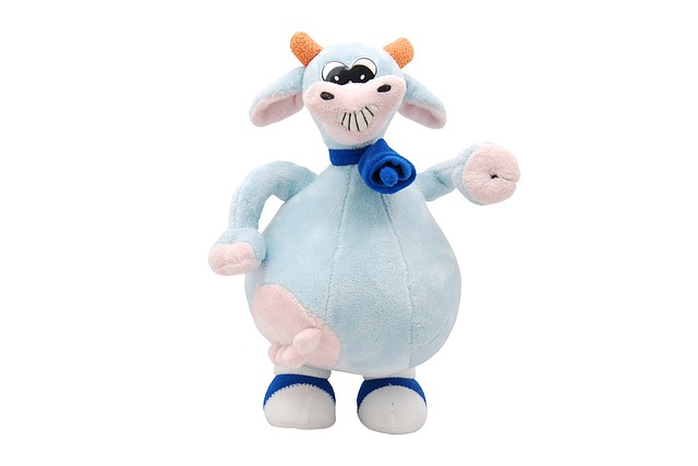 Toy, Animal, Cow, Cute, Isolated, Object