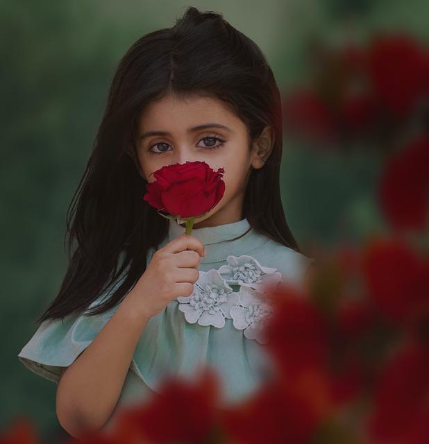 Portrait, Woman, People, Girl, Cute, Little, Kids