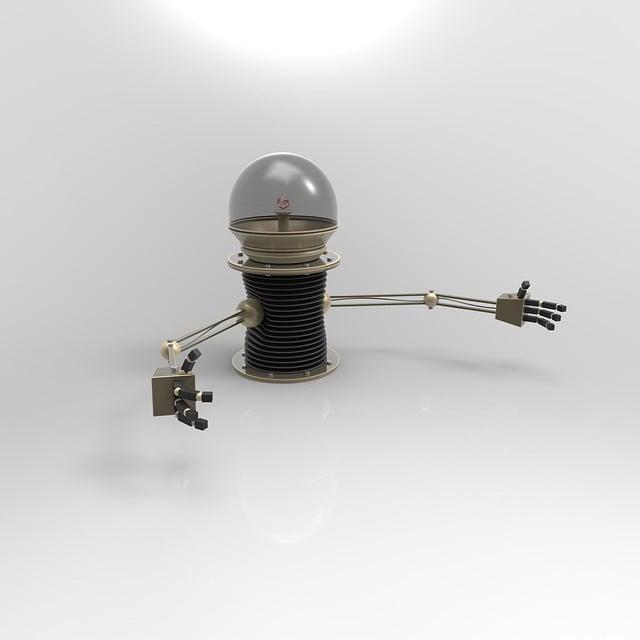 Robot, Hug, Cute, Steampunk, Motor, Future, 3d