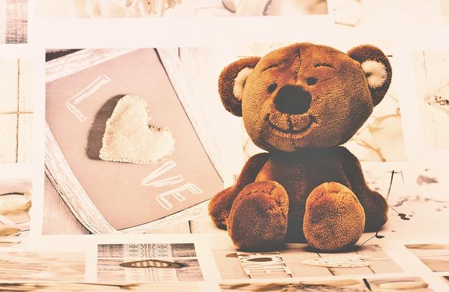 Stuffed Toy, Teddy Bear, Plush Toy, Cute