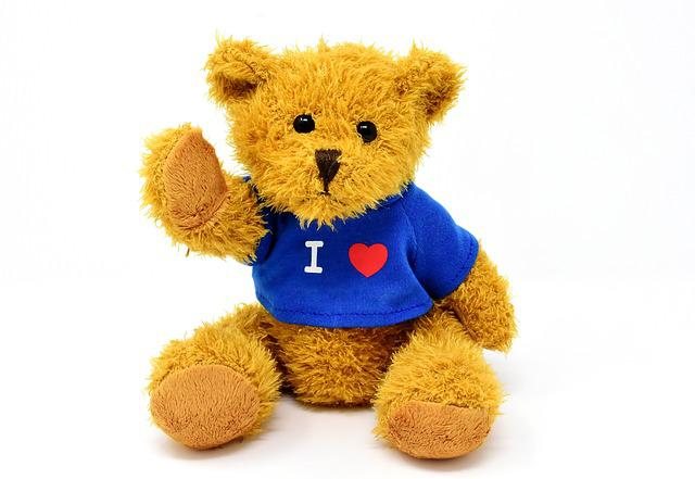 Teddy, Cute, Animal, Soft Toy, Love, Stuffed Animal