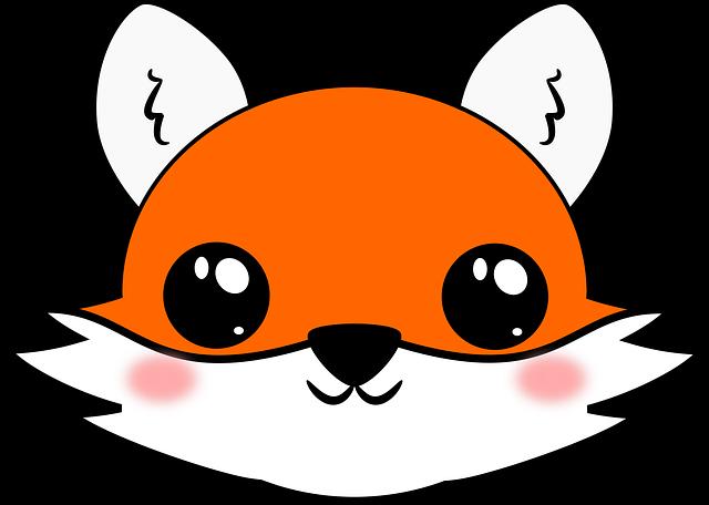 Kawaii, Fox, Cute, Cute Wallpaper, Background