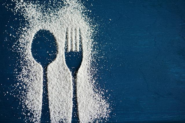 Spoon, Fork, Cutlery, Icing Sugar, Silhouette, Eat