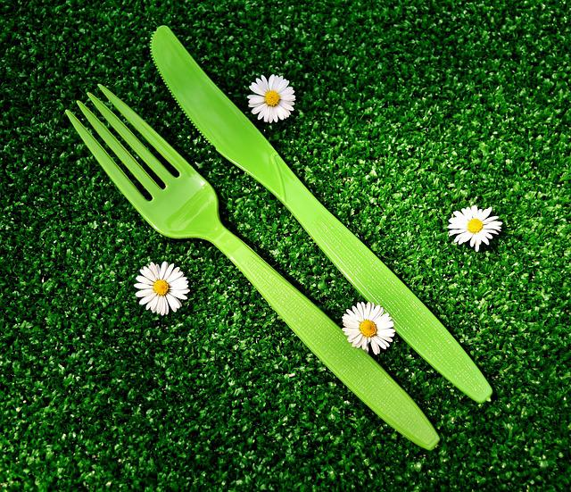 Picnic, Cutlery, Plastic, One Way, Knife, Fork, Summer