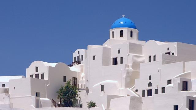 Santorini, Greece, Architecture, Cyclades