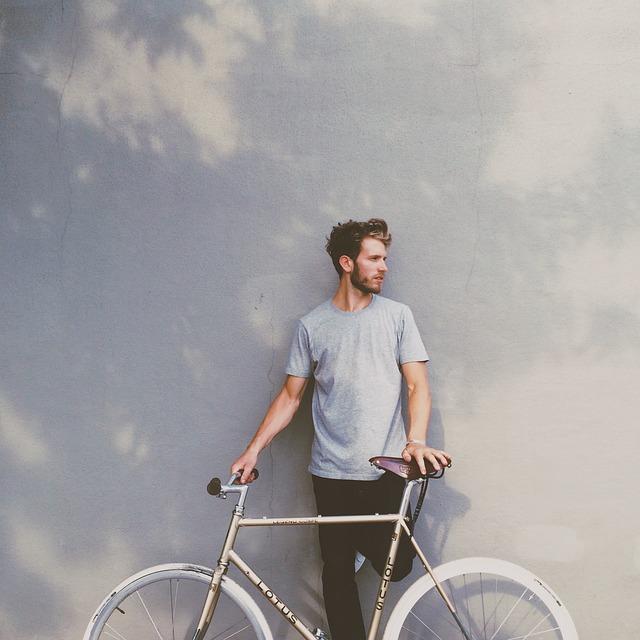 Guy, Bike, Bicycle, Lifestyle, Adult, Male, Man, Cycle