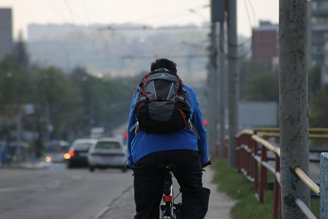 Bike, Cyclist, Road, Machinery, Bridge