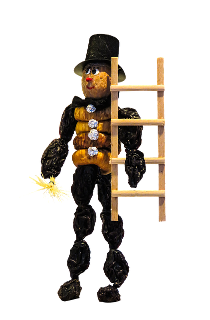 Chimney Sweep, Head, Cylinder, Suit, Black, Luck