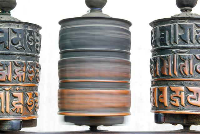 Kathmandu, Nepal, Old, Cylinder, Buddhism, Buddha