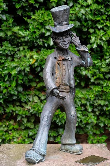 Statue, Sculpture, Figure, Art, Man, Bronze, Cylinder