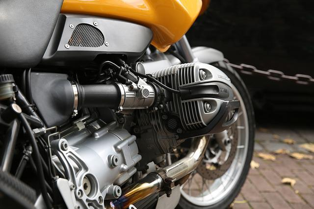Motorcycle, Motor, Cylinder, Technology, Shiny, Vehicle