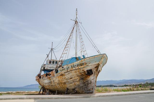 Fishing, Boat, Cyprus, Latsi Port, Polis, Mediterranean